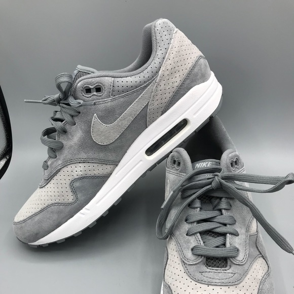 Men's Nike Air Max 1 Premium Cool Grey Wolf Grey